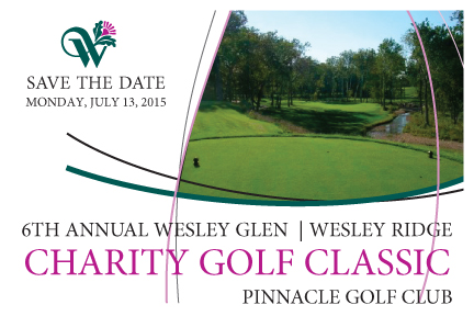 6th Annual Wesley Glen/Wesley Ridge Charity Golf Classic Tees Off July 13